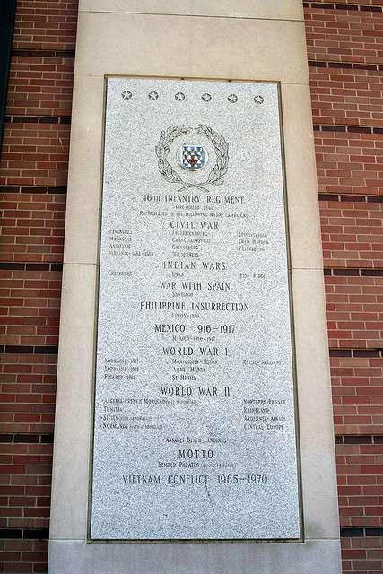 Non-association Memorials | 16th Infantry Regiment Association