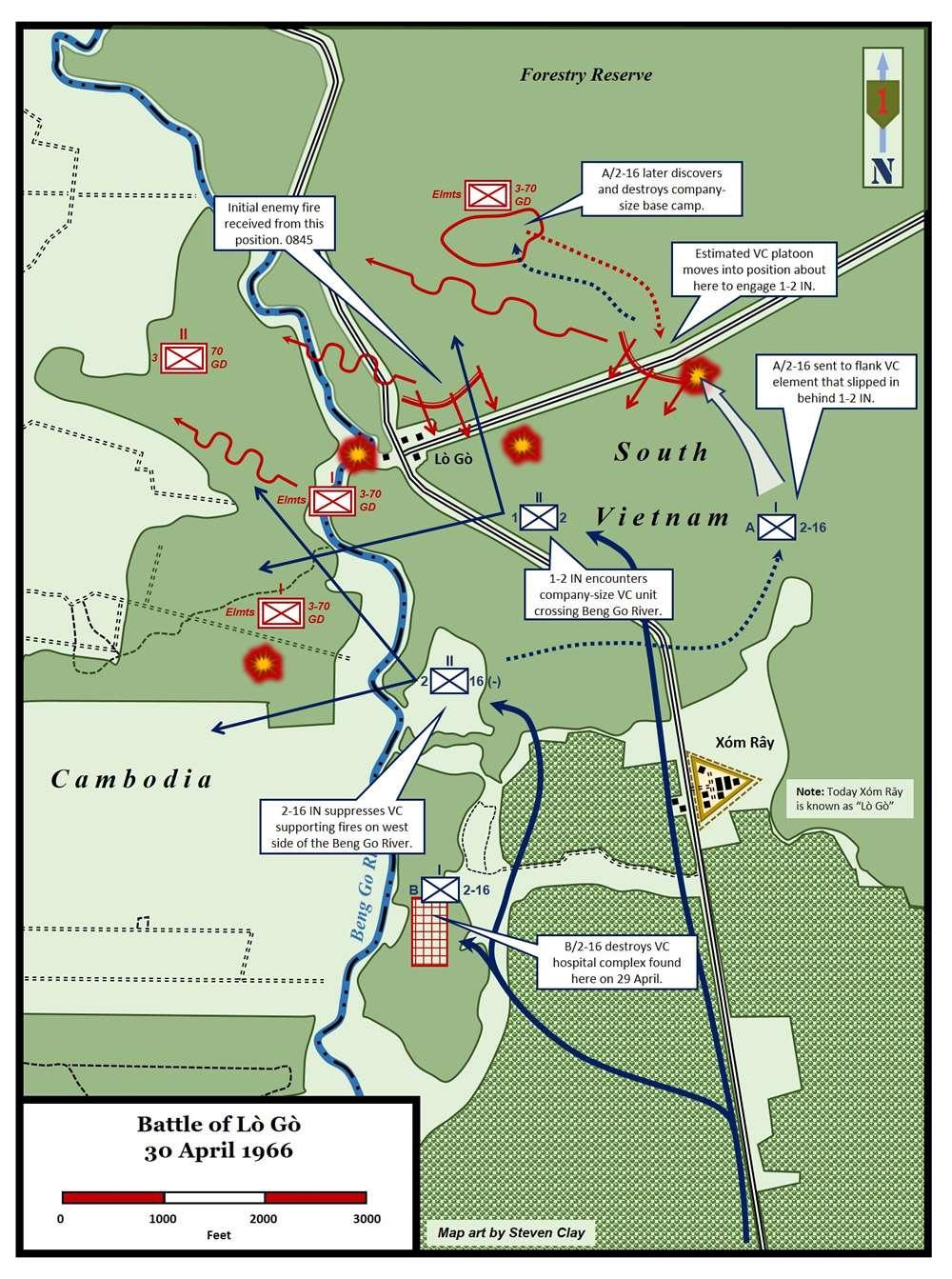 Battle of Lo Go 30 April 1966 – 16th Infantry Regiment
